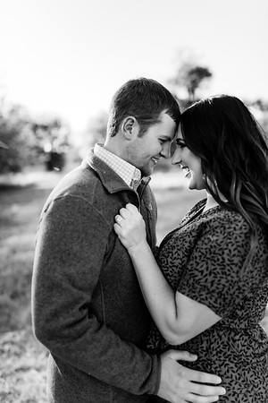 00011©ADHPhotography2020--LaurenRugglesClaytonSkolout--Engagement--October12bw