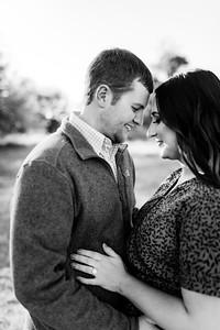00009©ADHPhotography2020--LaurenRugglesClaytonSkolout--Engagement--October12bw