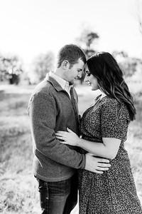 00005©ADHPhotography2020--LaurenRugglesClaytonSkolout--Engagement--October12bw