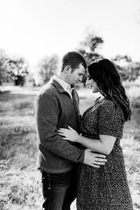 00004©ADHPhotography2020--LaurenRugglesClaytonSkolout--Engagement--October12bw
