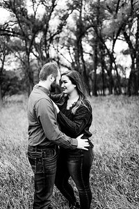 00007©ADHPhotography2020--TaylorDawson--Engagement--October21bw