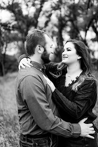 00003©ADHPhotography2020--TaylorDawson--Engagement--October21bw