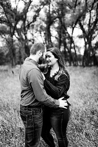 00006©ADHPhotography2020--TaylorDawson--Engagement--October21bw