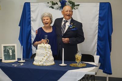 Maxine & JW  50th Wedding Vow Renewal