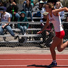 Loveland High School Girls raced in the 5A 4x200 relay for the state championship, Saturday, May 20, 2017 at Jeffco Stadium. (Michelle Risinger/ Loveland Reporter-Herald)
