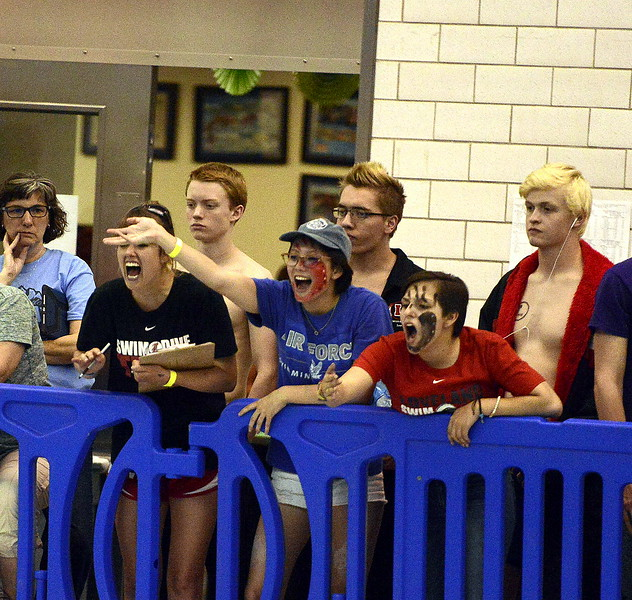 Loveland had plenty to cheer for at the 4A State Swimming Championships on Saturday at the Air Force Natatorium.