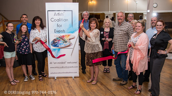 Loveland  Chamber of Commerce -  Art Advocate for NOCO Ribbon Cutting - 05/29/2018