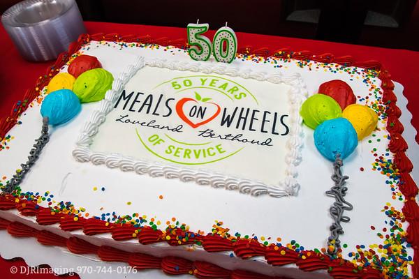 Loveland Chamber  - Ribbon Cutting 50th Anniversary Celebration - Meals on Wheels - Loveland - 01/30/2018