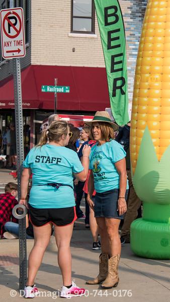 Loveland Corn Roast 2018 - The Volunteers