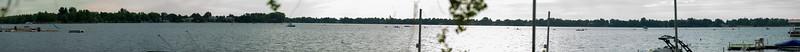 Panorama shot during Lake to Lake Triathlon 2016