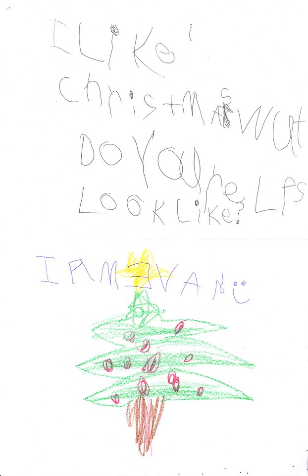 I like Christmas. Wat do your elfs look like I am Evan
