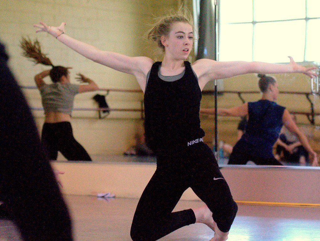 . Loveland\'s Hannah Weinmaster was recognized at a national competition level as one of the top solo dancers, talent she\'ll take to the University of Arizona on scholarship. (Cris Tiller / Loveland Reporter-Herald)