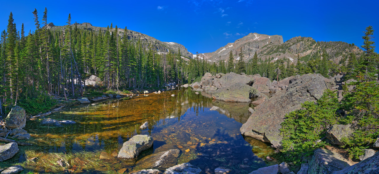 Lake Haiyaha, Rocky Mountain National Park