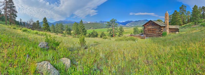 Moraine Cabin, Rocky Mountain National Park