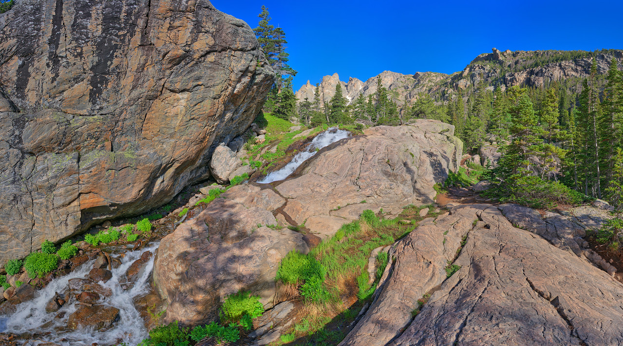 Emerald-Dream Falls, Rocky Mountain National Park