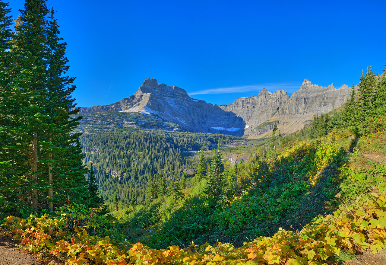 Iceberg Lake Trail Vista #2