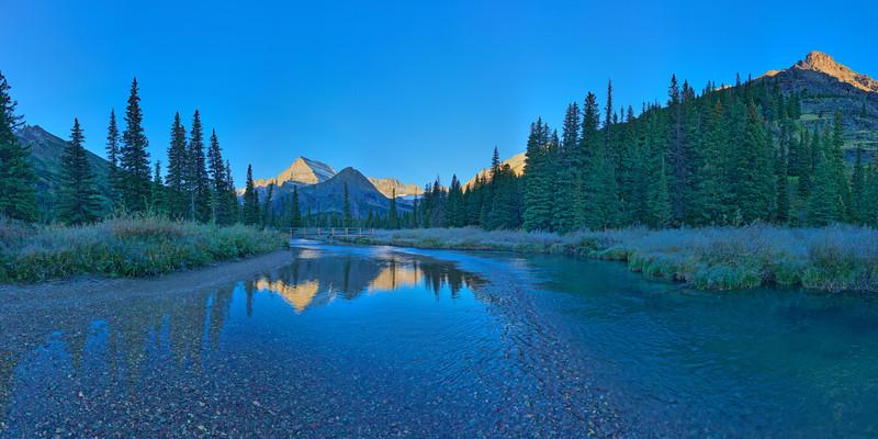 Grinnell Glacier Trail Vista