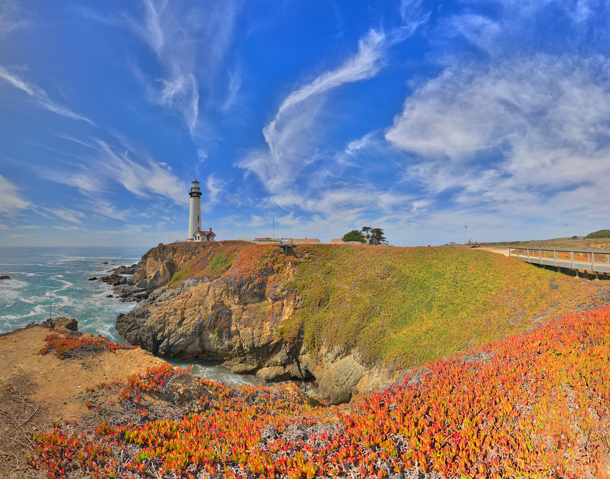 Pigeon Point Lighthouse, Pescadero