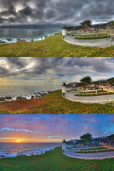 Moods of Montara, Point Montara Lighthouse, CA
