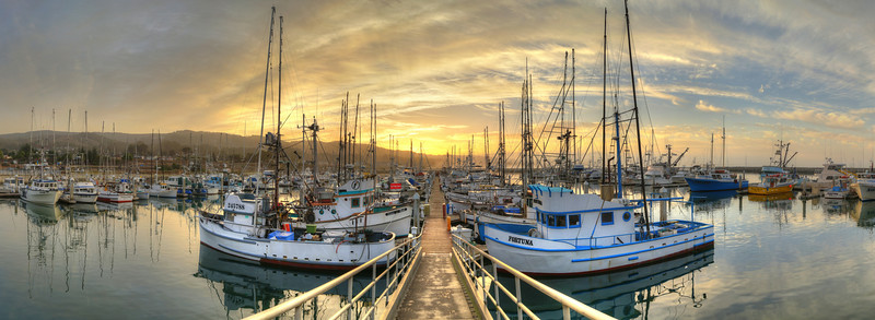 Pillar Point Harbor Sunrise #3