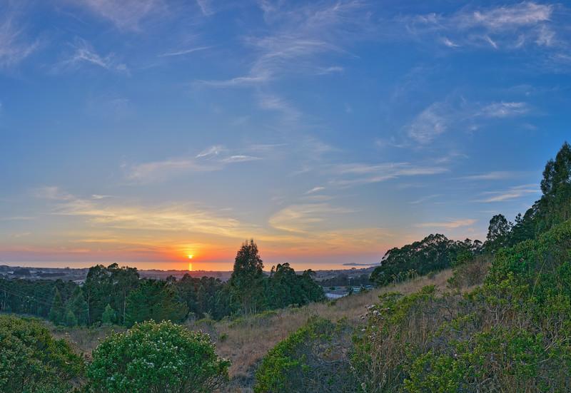 Half Moon Bay Sunset Vista