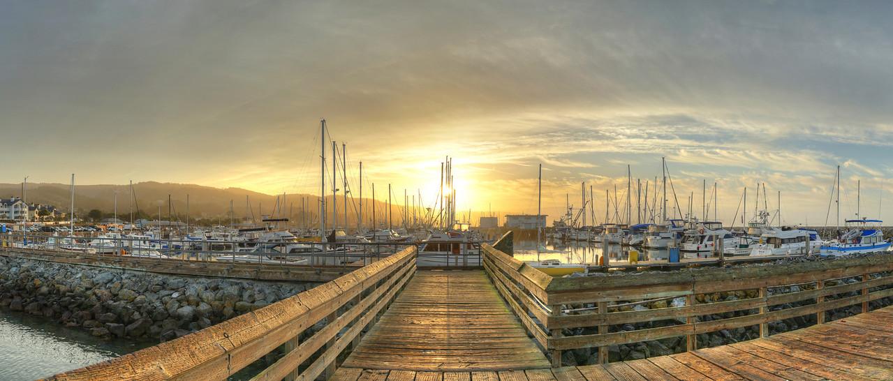 Pillar Point Harbor Sunrise #7