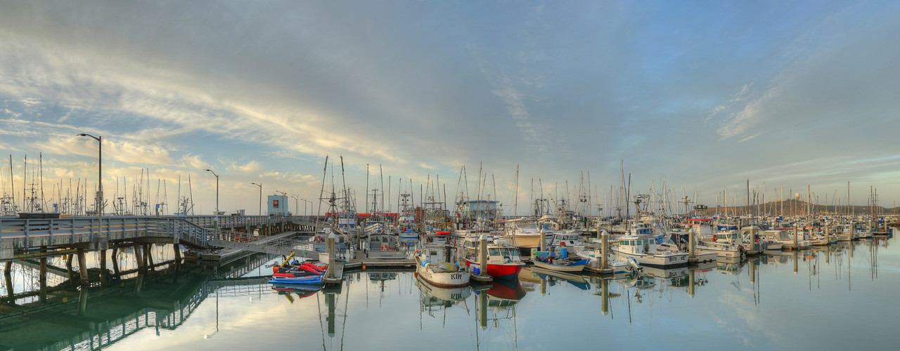 Pillar Point Harbor Sunrise #5