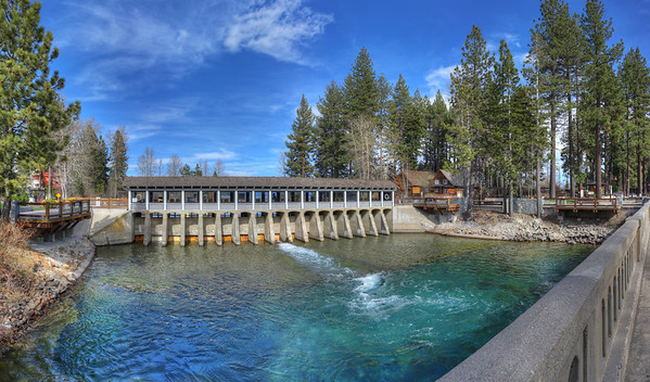Lake Tahoe and the Sierras