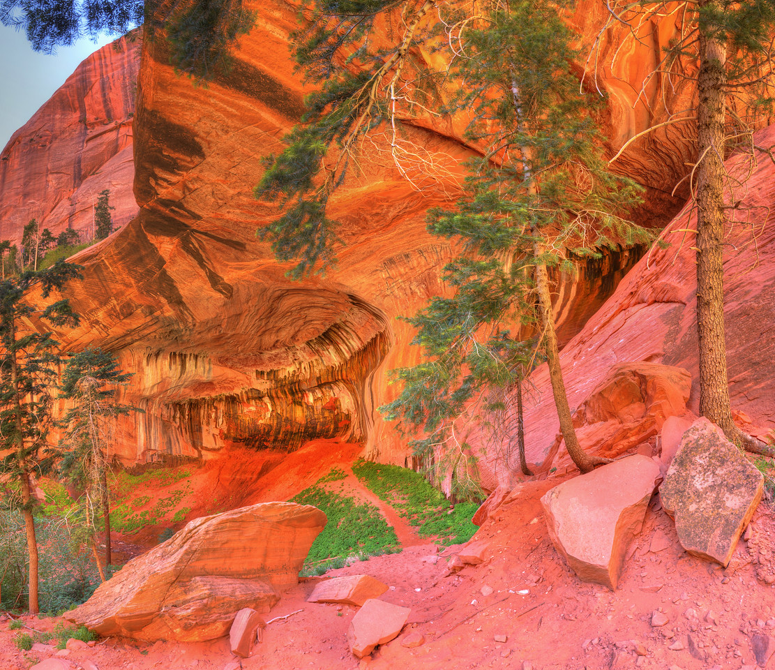 Double Arch Alcove #1, Kolob Canyons