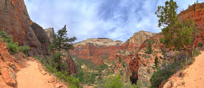 East Rim Trail, Zion
