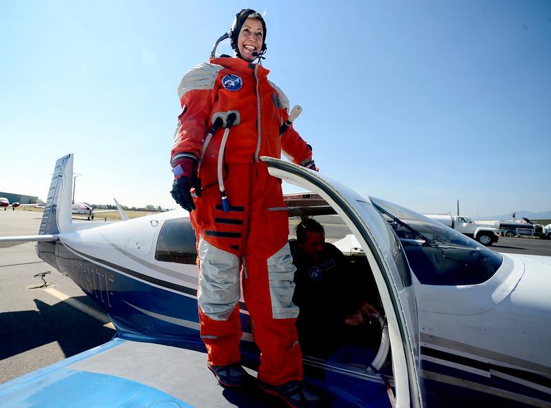 PoSSOM Tests Spacesuit in Boulder