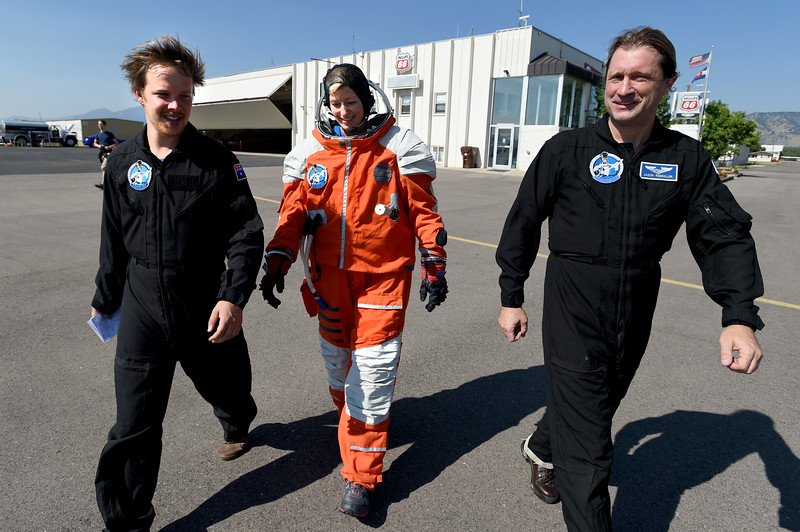 PoSSOM Tests Spacesuit in Boulder