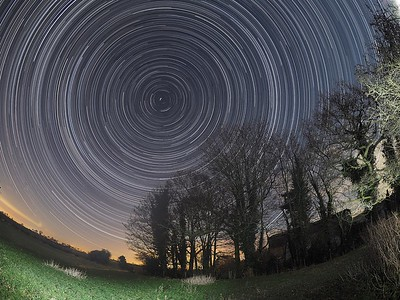 Wide Angle Star Spin