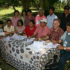 Merlin with Norma Monfort (in red), local mayor, (with baseball cap) and local citizens sighning successful petition to Philippine Government to protect two million bats in the Monfort Bat Cave.
