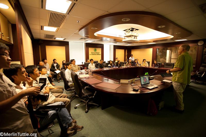 Merlin teaching week-long workshop in Hong Kong. Workshop Training