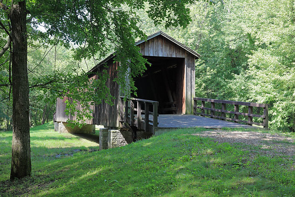 Locust Creek Covered Bridge, MO