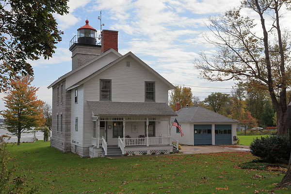 Big Sodus Lighthouse, Sodus Bay, NY