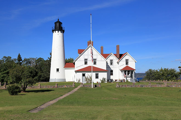 Point Iroquois Lighthouse, MI