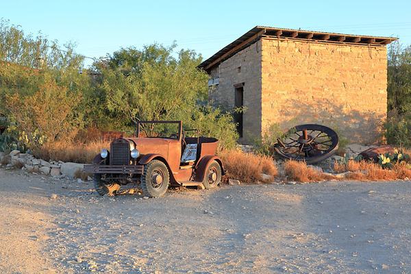 Ghost Town in Terlingua, TX