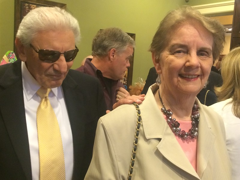 Bernie and Kay Petruzziello of Lowell
