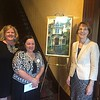LAB board members, from left, Director of Development Monica Mullen, Elizabeth Cannon and Deb Finch, all of Lowell