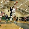 Lowell Catholic High School basketball played Pope John High School on Monday night in Lowell. SUN/JOHN LOVE