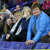 Lowell Catholic High School hockey scored two goals to beat Stoneham High School in the Division 2 North Championship at the Tsongas Center at UMass Lowell on Monday night. Watching the game closely, in blue jacket, is Donna Powers player Nathan Donaldson's aunt.   SUN/JOHN LOVE