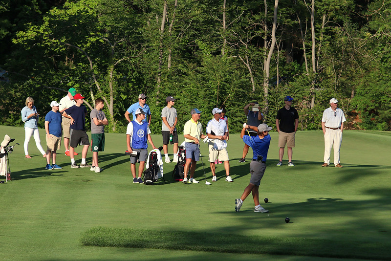 Scenes form the Lowell City Golf Tournament at Vesper Country Club in Tyngsboro on Wednesday afternoon. SUN/JOHN LOVE
