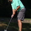 Scott Paremakes a putt during the Lowell City Golf Tournament at Vesper Country Club in Tyngsboro on Wednesday afternoon. SUN/JOHN LOVE