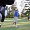 Peter Harrison make a shoot from the fairway during the Lowell City Golf Tournament at Vesper Country Club in Tyngsboro on Wednesday afternoon. SUN/JOHN LOVE