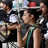 The last day of 2018 Folk Festival was packed with good food and great performances. Andrea Charls sings with the Rebetiko Trio on the JFK Plaza stage at the festival on Sunday. LOWELL SUN/JOHN LOVE