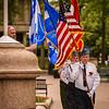 Flag Raising, Franco-American Festival Week