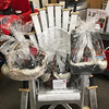 Winter is Coming- Concierge Services Staff and Volunteers Handmade replica of the throne, full Blue-ray series and so many fun GOT themes items form cookbooks to beer.