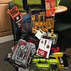 Tool Time- Facilities Crew- Assorted tools including Ryobi Four Piece Combo Set and $300 in Home Depot Gift Cards